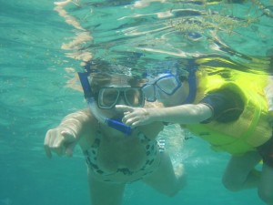 Snorkeling in Cagdanao