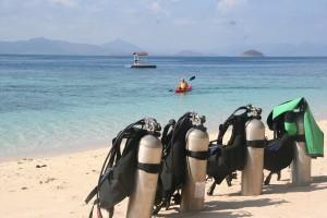 Scuba diving gears