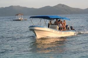 Boat in Cagdanao Island