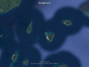 cagdanao island Google Earth map