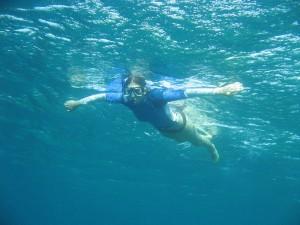Enjoy snorkeling in Cagdanao Island