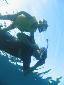 Underwater adventure in Cagdanao