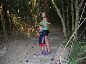 Family adventure at Cagdanao Island