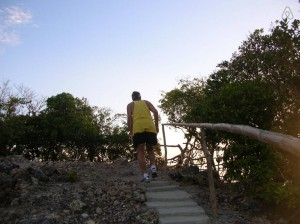Hiking in Cagdanao Island