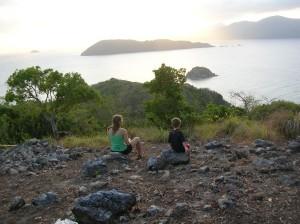 Overlooking Cagdanao Island
