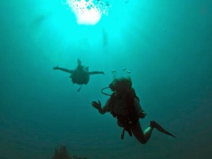 Underwater in Cagdanao Island